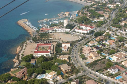 Aerial Picture of Cabo Roig Taken From Light Aircraft